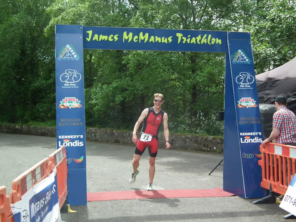 Triathln winner