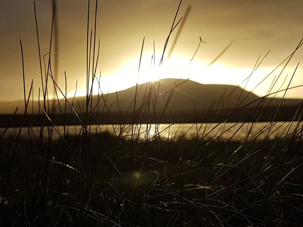 Sunset at Cuilcagh